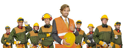 Workers team Royalty Free Stock Photography