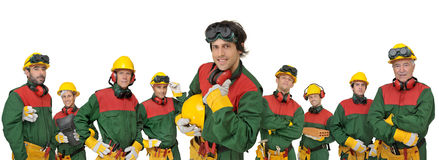 Workers team Stock Image