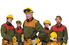 Workers team Stock Images