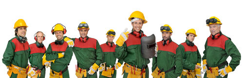 Workers team Stock Photography