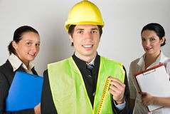 Workers team people Stock Image