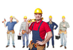 Workers team Royalty Free Stock Photo