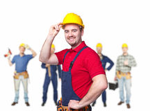 Workers team Royalty Free Stock Images