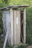 Workers toilet stock photo
