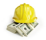 Workers' wages royalty free illustration