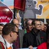 Workers&#x27 internacional; Día 1 de mayo de 2016, Berlín, Alemania Imágenes de archivo libres de regalías