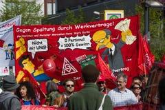 Workers&#x27 internacional; Día 1 de mayo de 2016, Berlín, Alemania Imagen de archivo