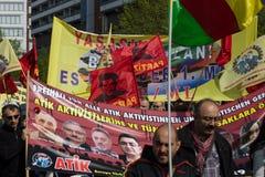 Workers&#x27 internacional; Día 1 de mayo de 2016, Berlín, Alemania Fotos de archivo