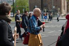 Workers&#x27 internacional; Día 1 de mayo de 2016, Berlín, Alemania Fotografía de archivo