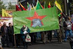 Workers&#x27 internacional; Día 1 de mayo de 2016, Berlín, Alemania Imagenes de archivo