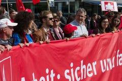 Workers&#x27 international ; Jour 1er mai 2016, Berlin, Allemagne Photos libres de droits