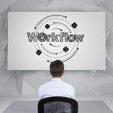 Workflow Royalty Free Stock Image