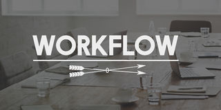Workflow Effective Efficiency Planning Process Concept Royalty Free Stock Image