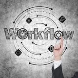 Workflow Royalty Free Stock Images