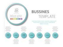 Workflow timeline, forskning, årsrapport Royaltyfria Bilder