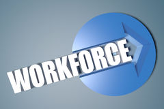 Workforce Royalty Free Stock Photography