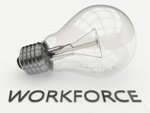 Workforce Royalty Free Stock Image