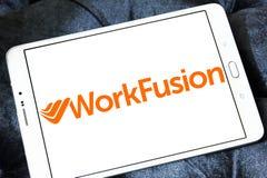 WorkFusion firmy softwarowa logo obraz royalty free