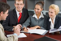 Workgroup Royalty Free Stock Image