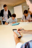 Workgroup in class Stock Images