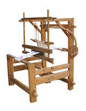 Working ancient loom Stock Images