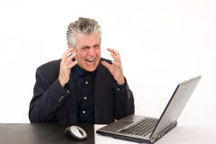 Working with anger Stock Images