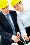 Working architects Royalty Free Stock Photo