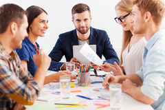 Working as team. Stock Images