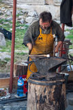 Working blacksmith Stock Image