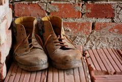Working boots Stock Photos
