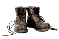 Working Boots Royalty Free Stock Photos