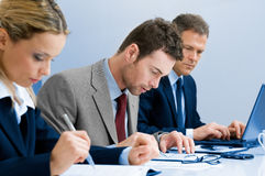 Working business people Royalty Free Stock Photo