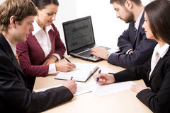 Working business people Stock Photography