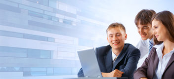 Working business team Royalty Free Stock Image