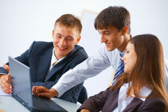 Working business team Stock Images