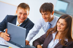 Working business team Stock Image