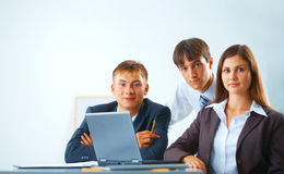 Working business team Stock Photos