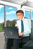 Working businessman Royalty Free Stock Image