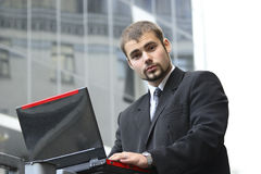 Working businessman Stock Photos