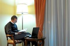 Working businessman Stock Image