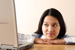 Working businesswoman Royalty Free Stock Image