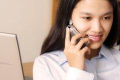 Working businesswoman Stock Image
