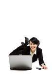 Working businesswoman Royalty Free Stock Photos