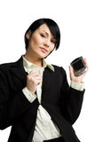 Working businesswoman Royalty Free Stock Images