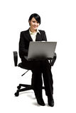 Working businesswoman Royalty Free Stock Photos