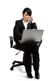Working businesswoman Royalty Free Stock Photo