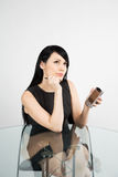 Working businesswoman Royalty Free Stock Photography