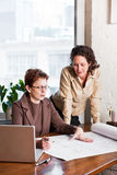 Working businesswomen Stock Images