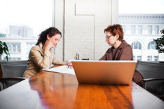 Working businesswomen Royalty Free Stock Photography
