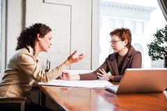 Working businesswomen Stock Photo